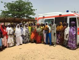 Ein Krankenwagen für Sénégal