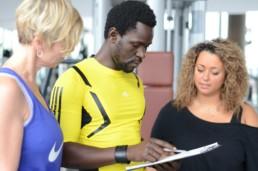 Personal Training Frankfurt/ Anamnese